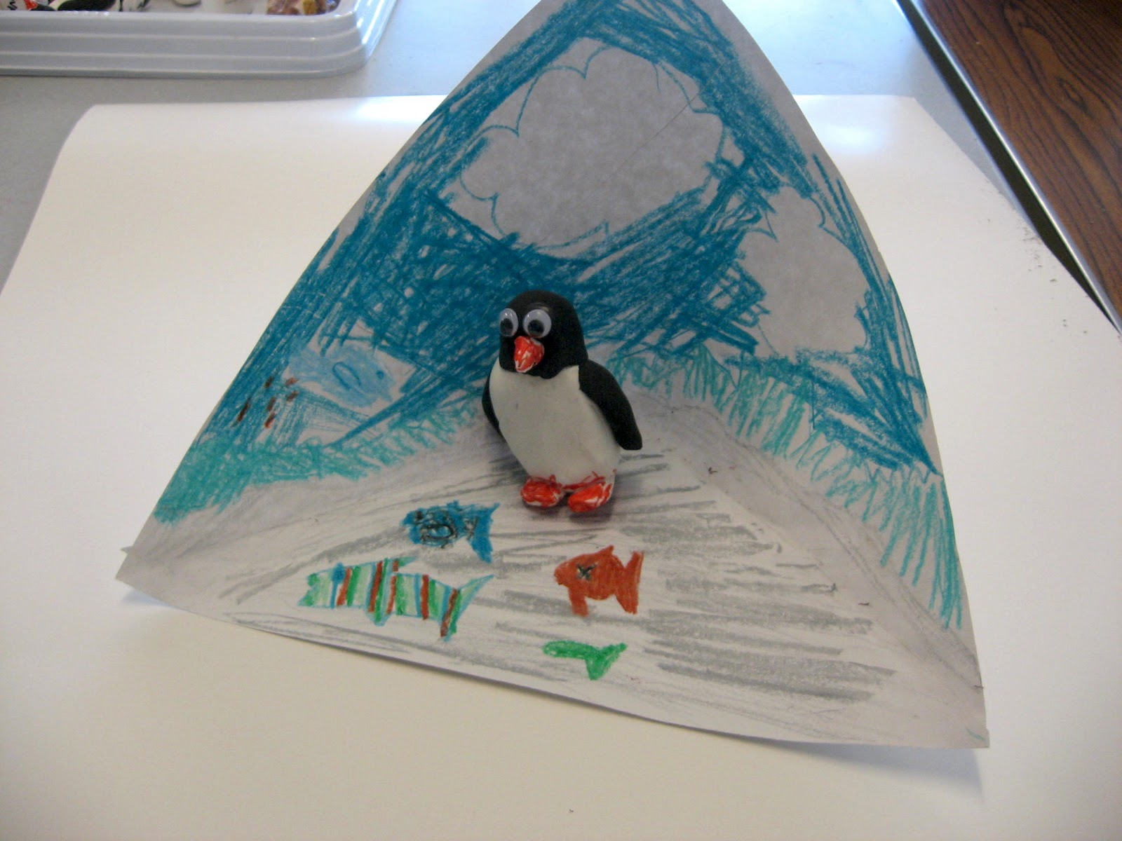 Art is basic art teacher blog kindergarten penguins for Penguin project