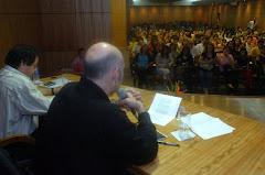 Charla magistral de Martín Caparrós
