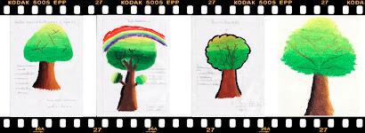 ผลงานการระบายสีของนักเรียน