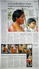 Reportagem sobre Infanticídio na Folha de São Paulo