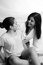 Ana Paula e Adriana Sôlha sua mãe