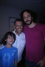Caio Fábio, Moisés Di Souza e Gabriel Pensador