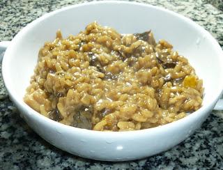 receita risoto de funghi