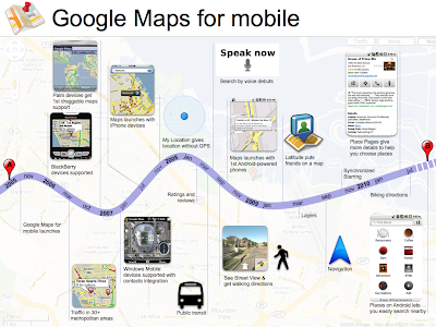 Google Maps Mobile History 5 Years