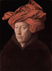 Jan Van Eyck - Homen de Turbante Vermelho