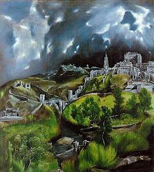 El Greco - Vista de Toledo