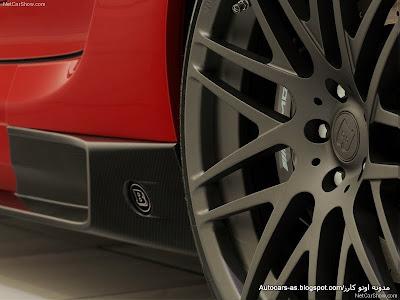 mercedes sls wallpaper. Brabus Mercedes-Benz SLS AMG