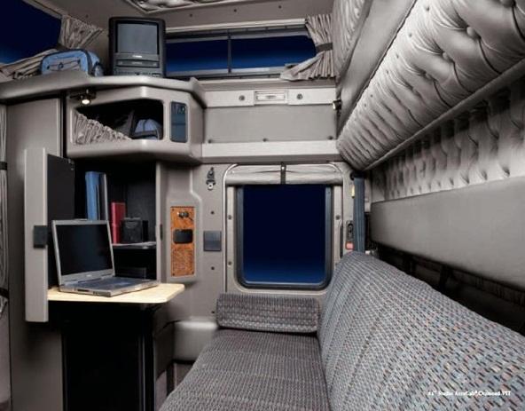 Camiones americanos kenworth pasion por los camiones for A l interieur trailer