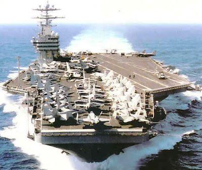 nuevo orden mundial portaaviones nuclear
