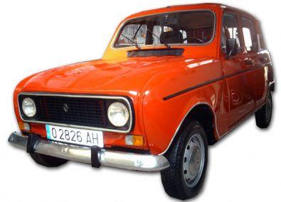 coches de los 80 renault 4