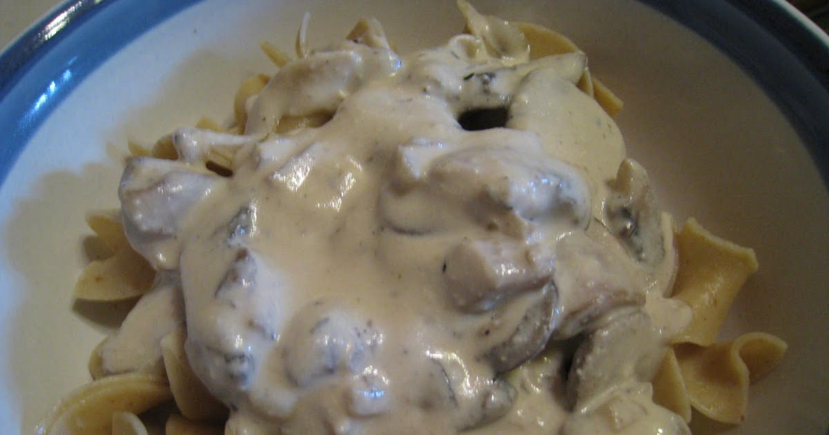 Join us, pull up a chair: Portobello Mushroom Stroganoff