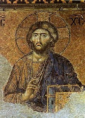 Mosaic in Hagia Sophia