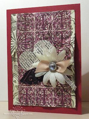 scrappy vintage valentine