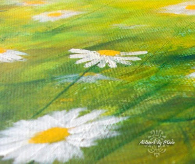 daisy field detail