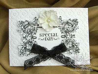 black and white wedding invitations. Court Wedding Black and White
