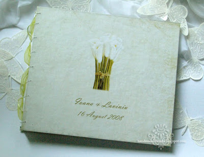 Calla Wedding Album and Butterflies Album Nunta Cala si Fluturasi