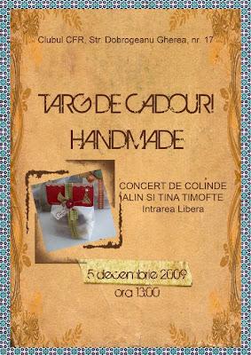 Handmade by Meda la targul de cadouri