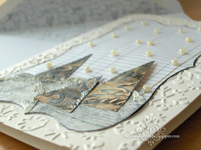 winter wonderland card detail
