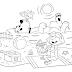 Desenhos do Cão Clifford - Imagens para Colorir