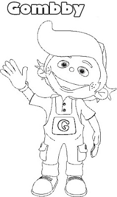 Gumby And Pokey Coloring Pages