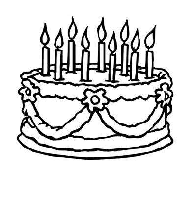 results for imagens de bolos de aniversario para colorir