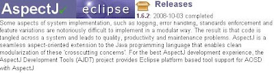What Eclipse Foundation says about AspectJ?