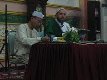 BERSAMA DENGAN DOKTOR SHEIKH AHMAD AJUR AL LUBNANI 2008