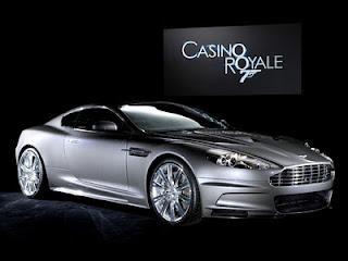 Aston Martin DBS Jamesa Bonda w Casino Royale