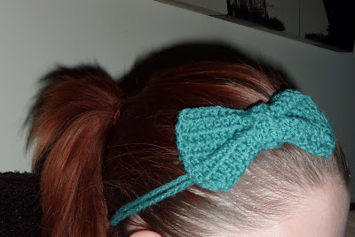Sophie Jenner: Crochet hair band...