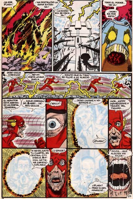La muerte en los comics Flash