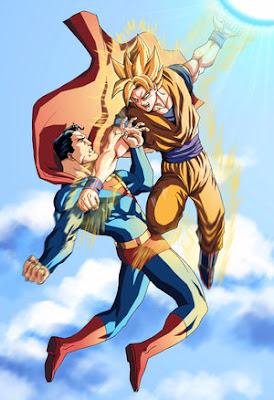 El manga es comic. Superman_VS_Goku_by_mikemaluk