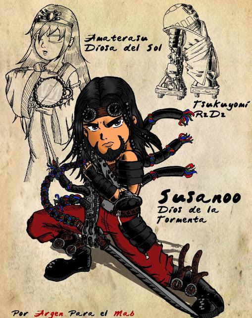 14vo Combate - Susano-O versus Loki Cyber_Susanoo_by_Argen_Amla