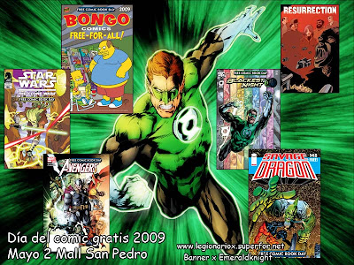 DIA DEL COMIC GRATIS Green_10