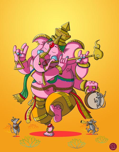 19no Combate - Ganesha versus Skadi Ganesha3