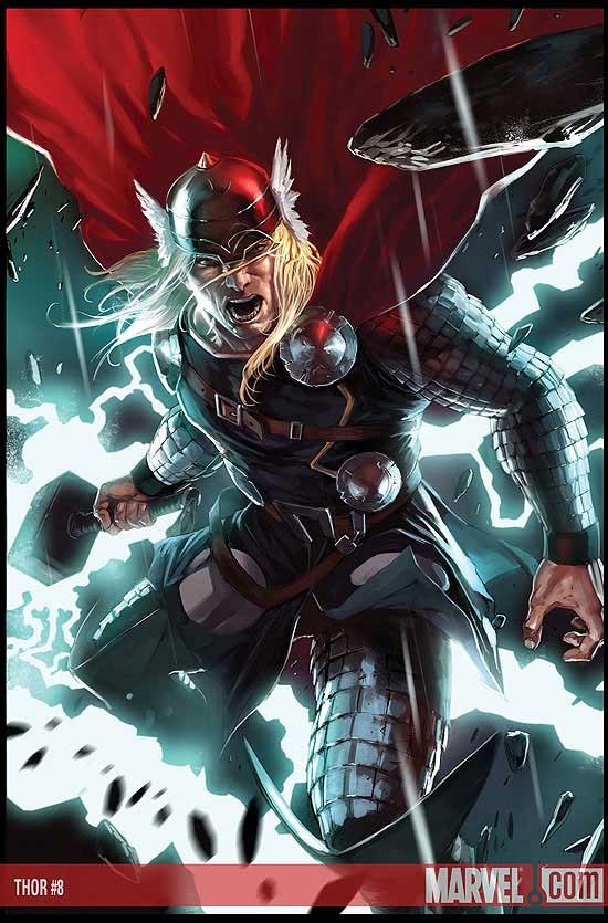 thor wallpaper. Comic Book Thor vs. Movie Thor