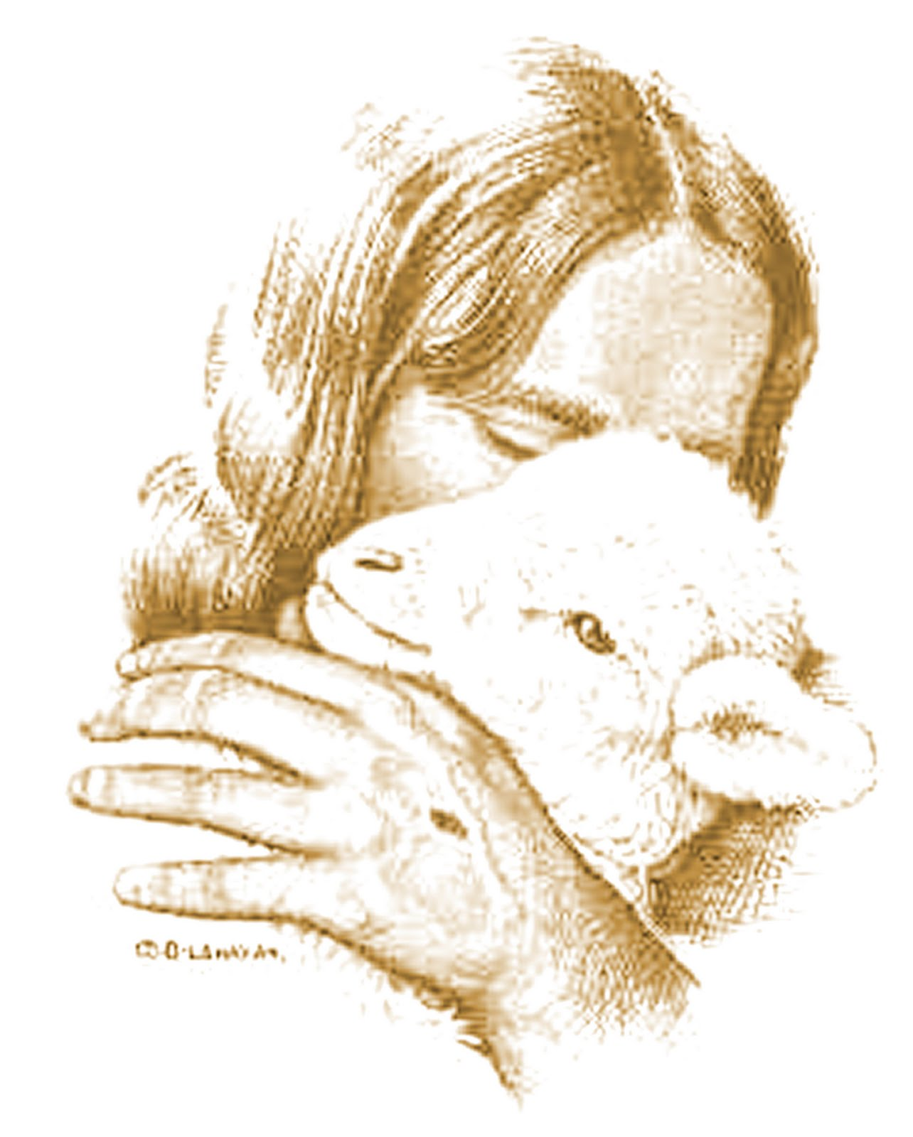 Jesus Shepherd and His Sheep