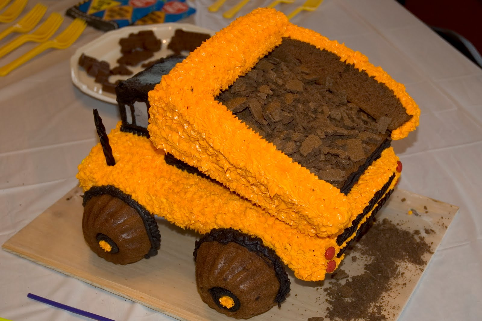 Living Frugally Without Being Called A Cheapskate Dump Truck Cake