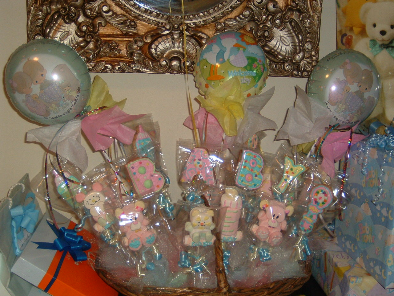 Myruchis: recuerdos para baby shower