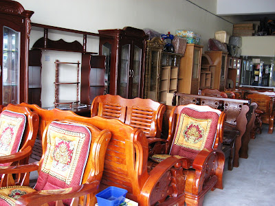 Furniture  on Sarikei Furniture Row 2007