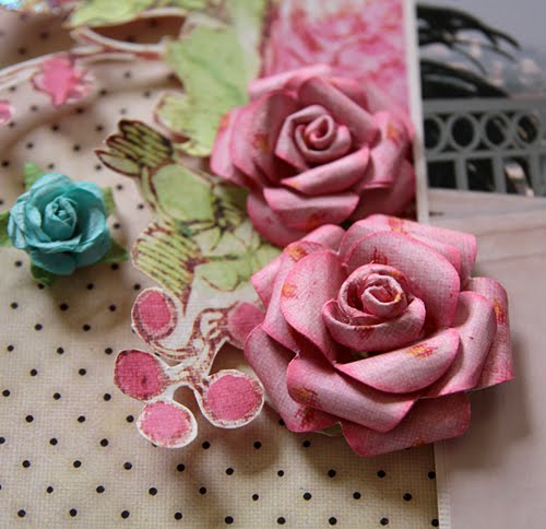 Stacy cohen prima layout and paper rose flower tutorial the editor asked me to put together a step by step tutorial for the magazine article so i thought i would share the tutorial here too mightylinksfo