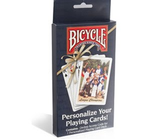 how to make custom bicycle playing cards
