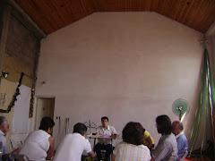 Comision de Evangelismo en un nuevo espacio
