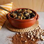 Zuppa di Cicerchie con cavatelli di farina di carrube