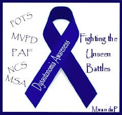 Dysautonomia Awareness Ribbon