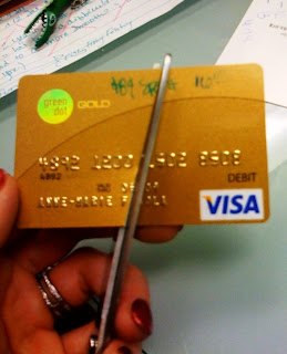 a - Green Dot Visa Debit Card