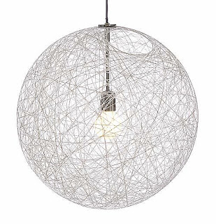 Found beauty studio diy string lamp shade for the record this stunning lamp is from design without regard and costs a whopping 980 looks like its yarn and fabric stiffener for me aloadofball Image collections