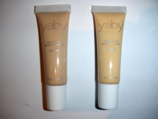 Yaby Liquid Foundation Buff and Custard