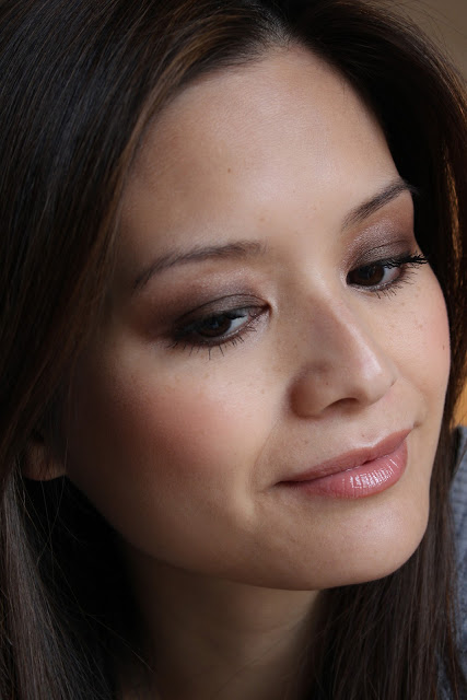 Beauty Scribbler Bourjois Smoky Eyes nude ingénu applied