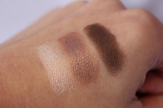 Bourjois Smoky Eyes nude ingnu swatches