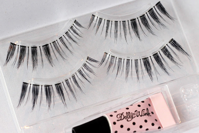 Dolly Wink Dolly Sweet No.1 lashes close-up